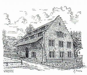 Gaestehaus Wasserstelz Hohentengen Historisches